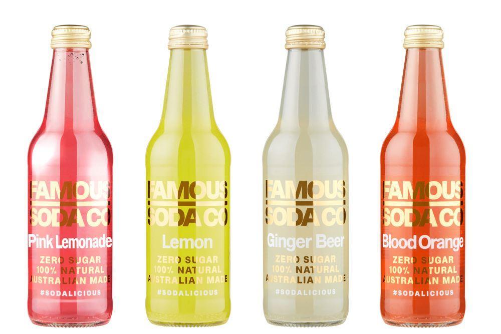 Zero Sugar Famous Sodas