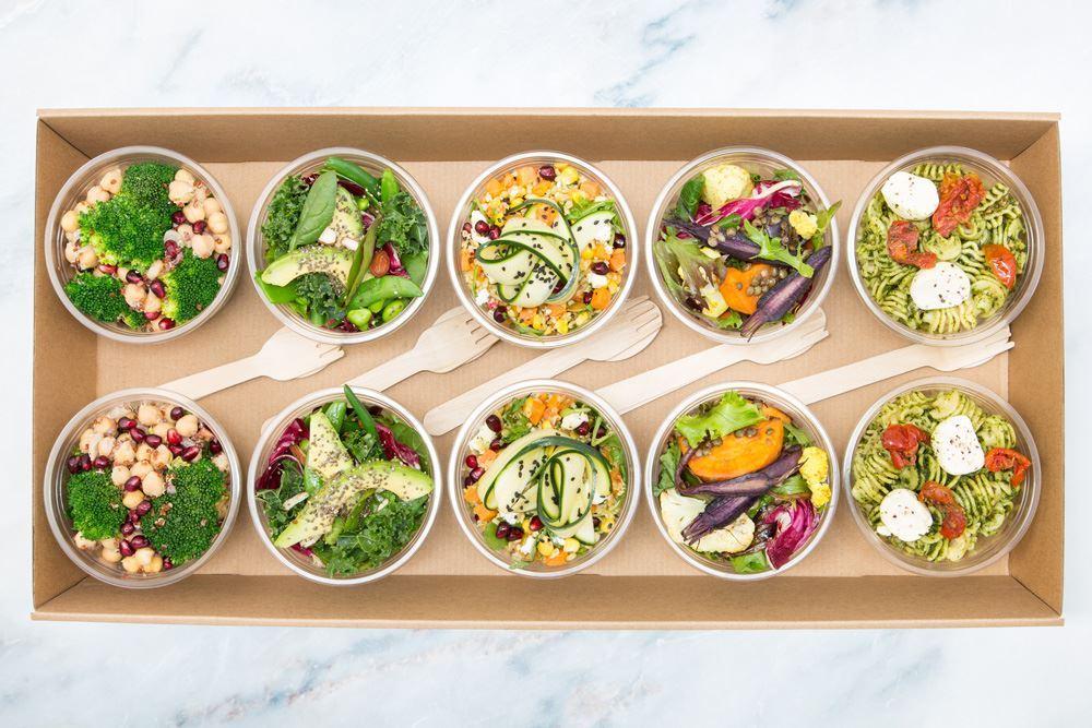 Vegetarian Salad Pot Collection