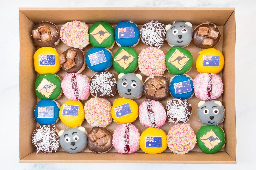 Limited Edition Medium Aussie & NZ Doughnut Collection