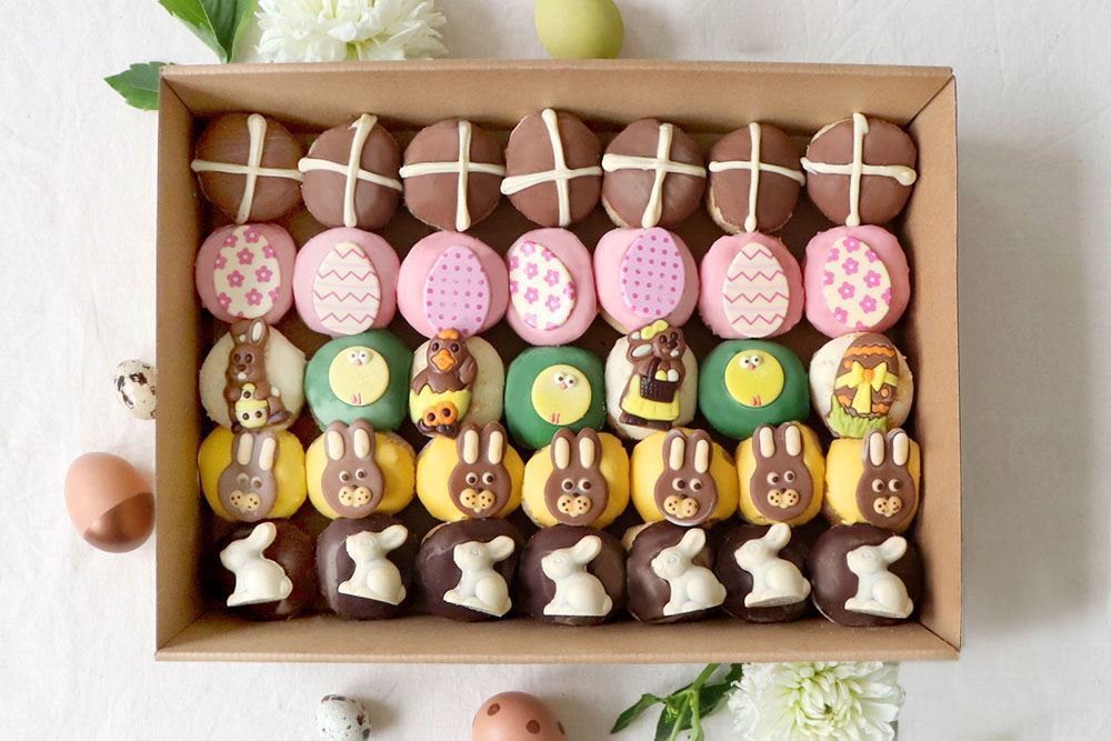 Large Easter Mini Doughnut Collection