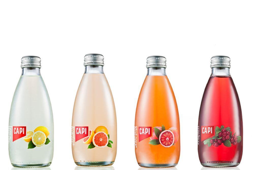 Flavoured Sparkling Capi Fruit Sodas