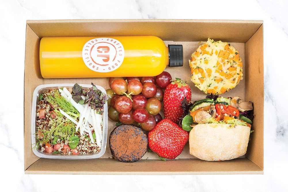 Individual Vegan Lunch Box