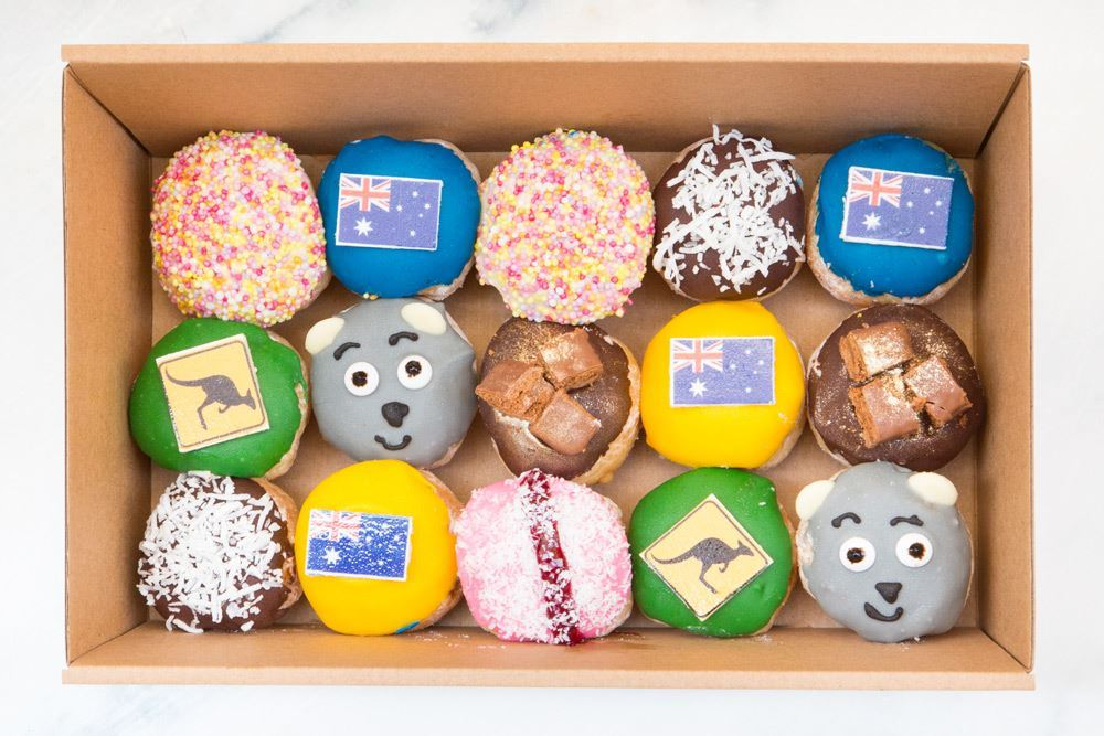 Limited Edition Small Aussie & NZ Doughnut Collection
