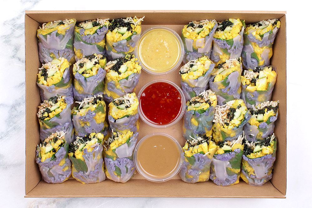 Cauliflower Salad Roll Collection