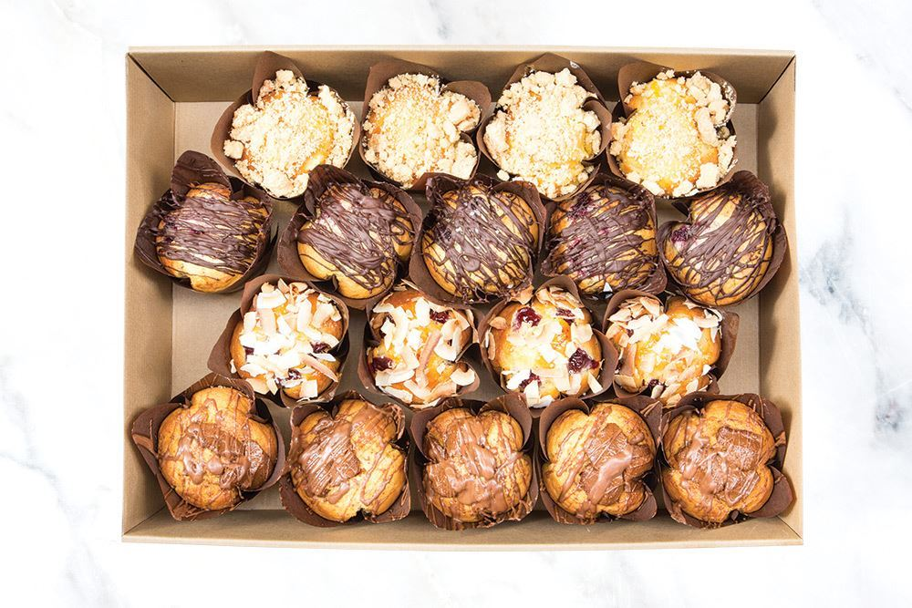 Large Rustic Muffin Collection