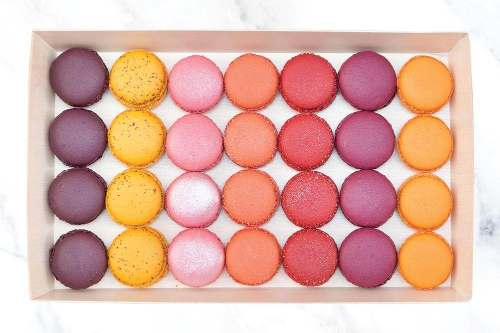 Vivid Coloured Macaron Collection