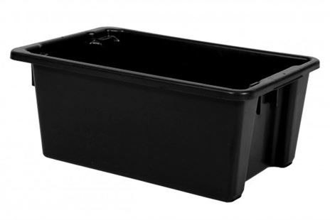 Hire: Plastic 52L Ice Tub Black