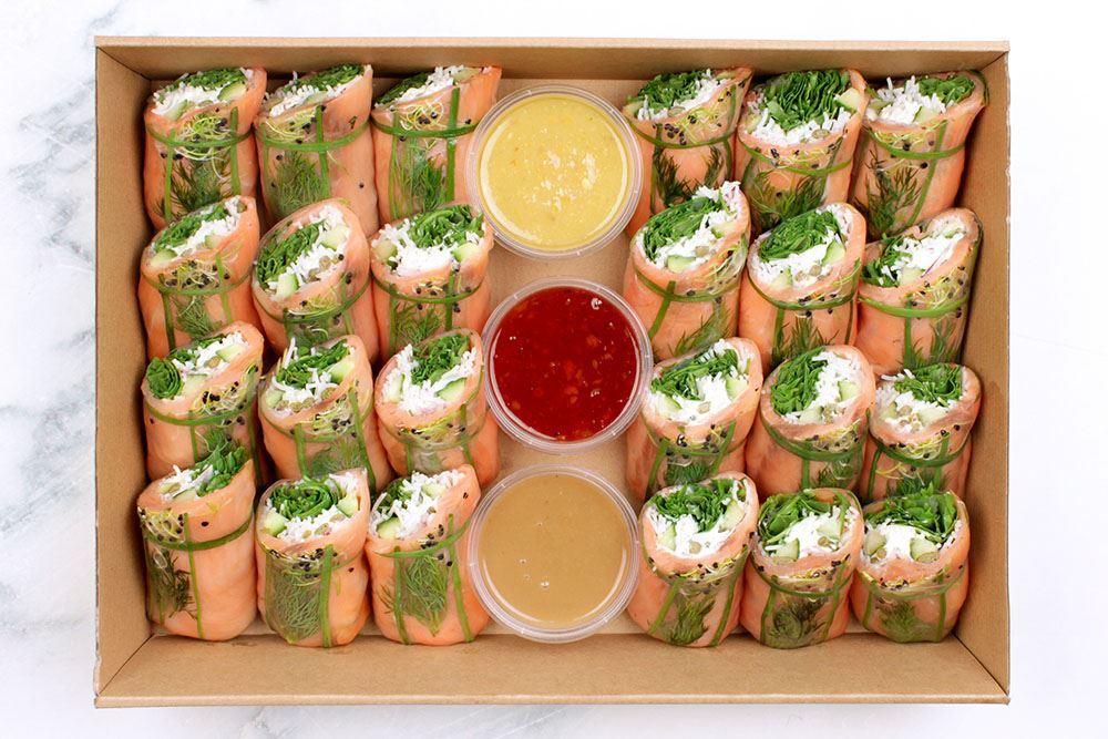 Salmon Salad Roll Collection