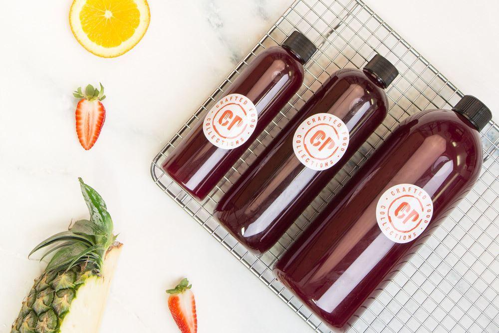 Cold Pressed Cleanser Juice: Carrot, beetroot, celery, apple, lemon & ginger