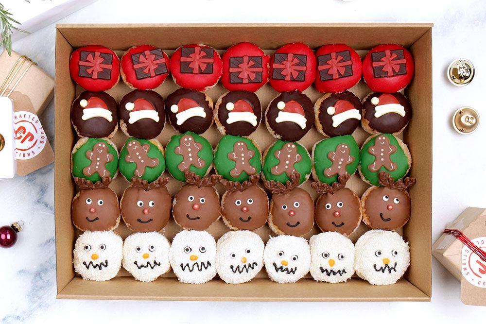 Christmas Doughnut Collection