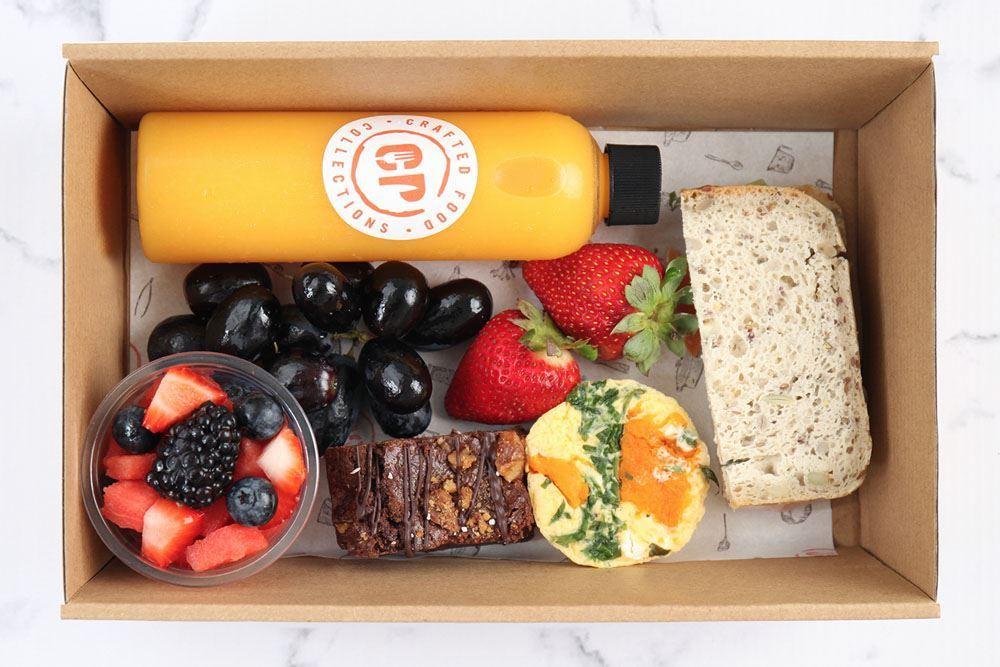 Individual Gluten Free Breakfast Box