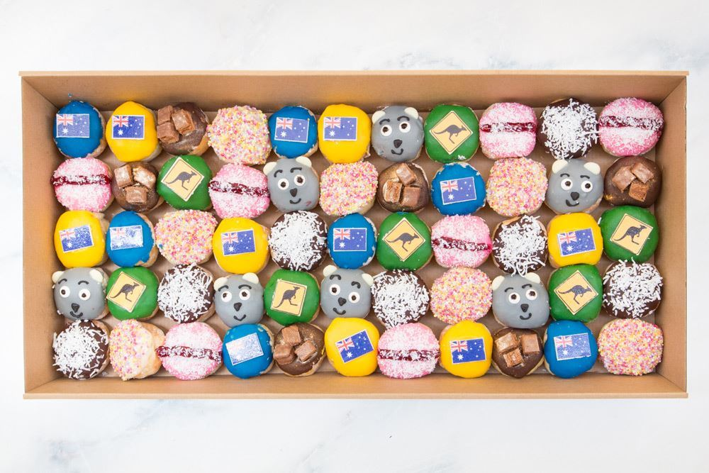 Limited Edition Large Aussie & NZ Doughnut Collection