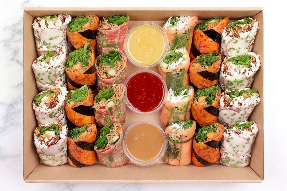 Signature Salad Roll Collection