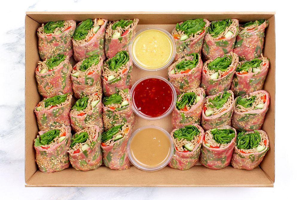 Teriyaki Salad Roll Collection