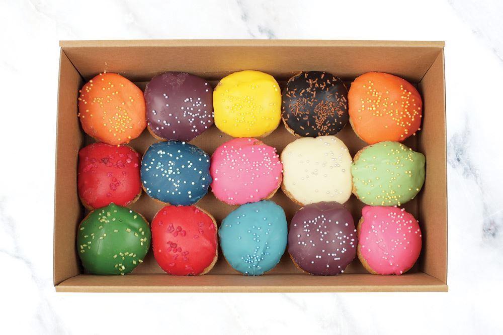 Vivid Small Mini Doughnut Collection