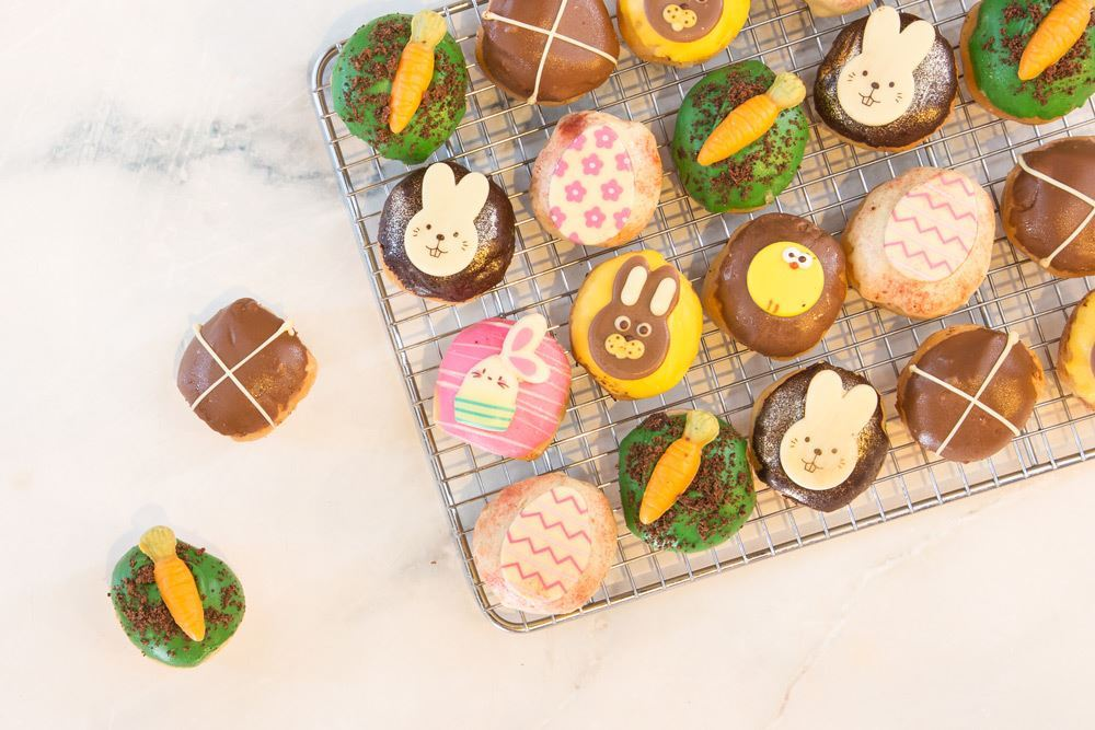 Mini Easter Doughnuts