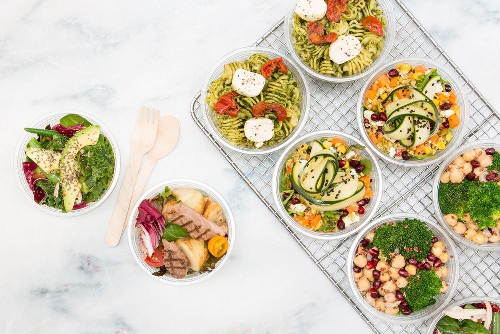 Individual Salad Pots