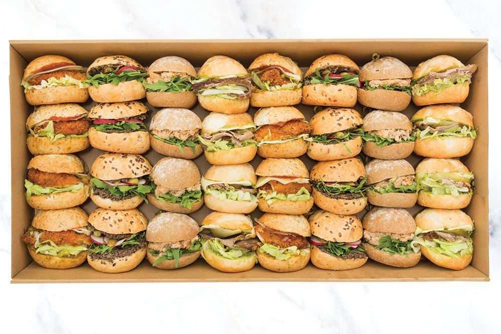 Traditional Lunch Slider Collection