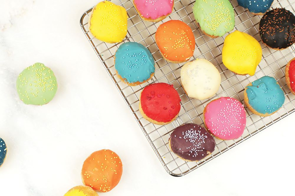 Vivid Mini Doughnuts