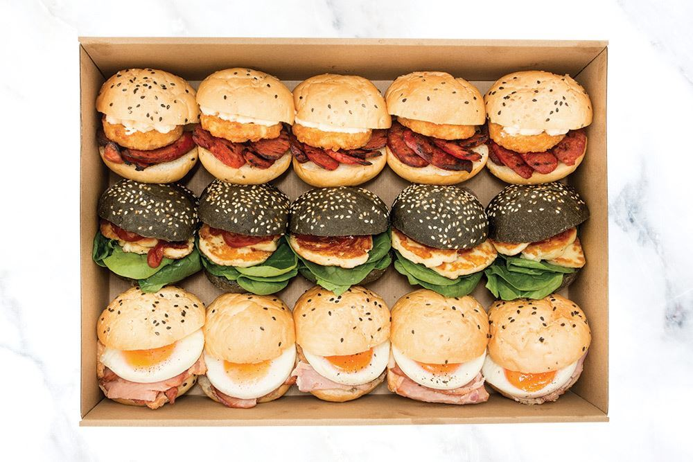 Luxe Breakfast Slider Collection
