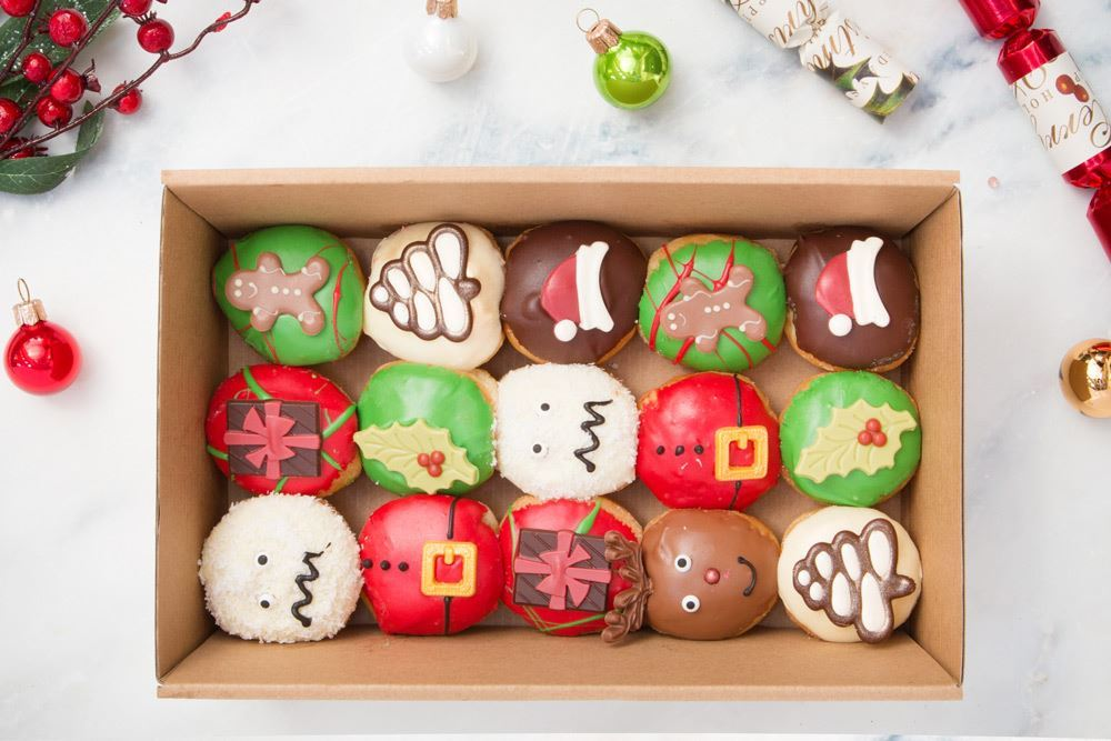Small Christmas in July Doughnut Collection