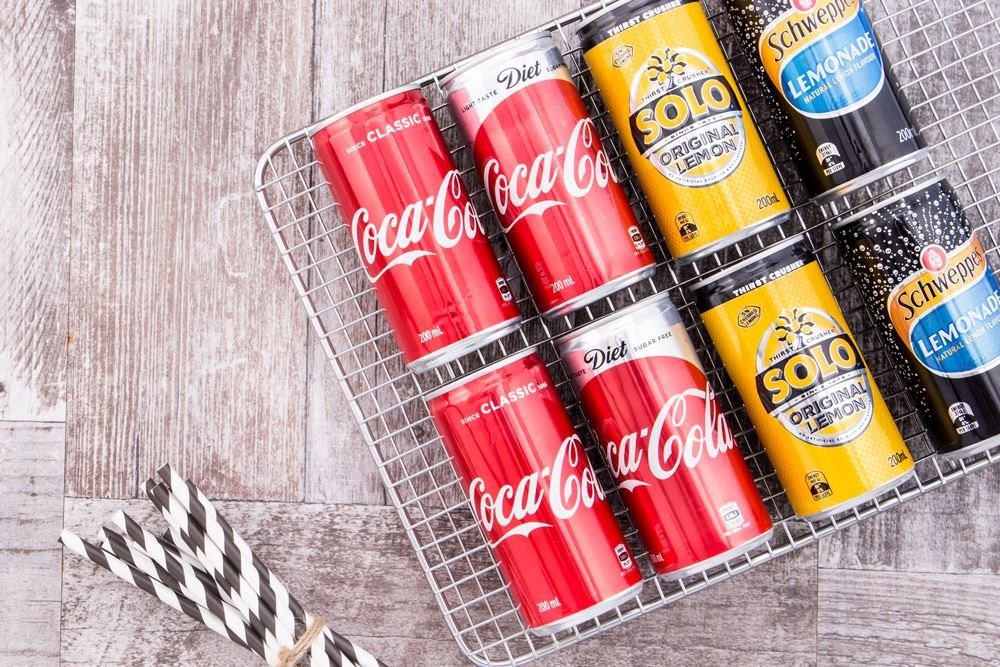 Soft Drink Cans - 200ml