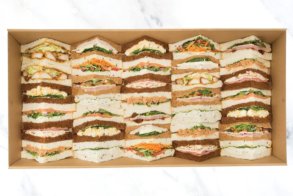 Triangle Sandwich Collection